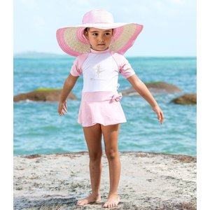 ベビー インポート 水着 Elly La Fripouille ジャストダンス ロンパース型 キッズ水着 子供水着 70 80 90 ベビースイミング Baby Kids ワンピース水着|apricos