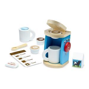 Melissa&Doug  コーヒー バリスタ セット 木製 玩具 おもちゃ  ギフト プレゼント ...