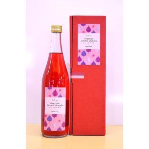 芦屋 赤しそ純米梅酒  720ml カートン入り|apricot-t