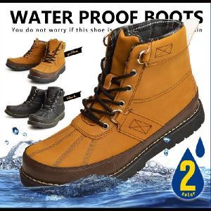 ブーツ メンズ スノーブーツ 靴 メンズ 防水 メンズ ブーツ 防寒ブーツ レインシューズ レインブーツ スノーシューズ ワークブーツ 2017 冬|apricot-town