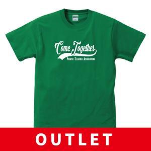 (アウトレット・現品限り) PTA ユニフォーム Tシャツ Come Together ロゴ|apricot-uns