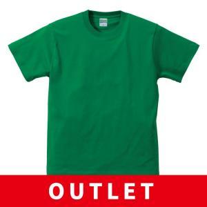(アウトレット・現品限り) 無地 Tシャツ ウェア グリーン 150cm 160cm キッズ 子ども 女性 送料無料|apricot-uns