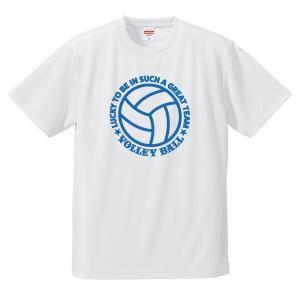 【名入れ】バレーボール Tシャツ ドライ ウェア 練習着 チーム クラブ 全12色 V702 送料無料 apricot-uns