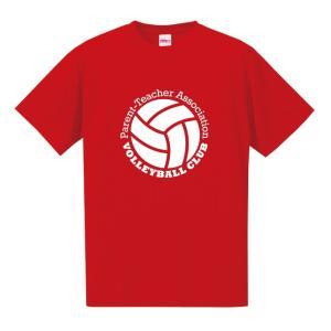PTA バレーボール Tシャツ ドライシルキーウェア 練習着 チーム クラブ V602 送料無料 5088|apricot-uns