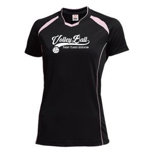 PTA バレーボール Tシャツ プラクティス ウェア 練習着 チーム クラブ V604 送料無料|apricot-uns
