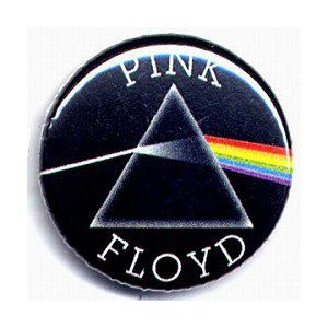 PINK FLOYD(ピンク・フロイド):狂気(DSOM)缶バッジ/25mm【小物 雑貨 グッズ 缶バッジ】|aprilfoolstore