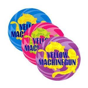 YELLOW MACHINEGUN(イエロー・マシンガン):ステッカー3枚セット/80mm【小物 雑貨 グッズ ステッカー】|aprilfoolstore