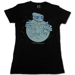 E.T.(イーティー):ON EARTH/ブラックー/レディースL【ファッション Tシャツ】|aprilfoolstore
