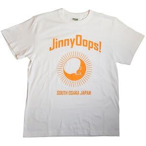 JinnyOops!(ジニーオップス):Tシャツ/ホワイト/メンズ【ファッション バンド Tシャツ】|aprilfoolstore
