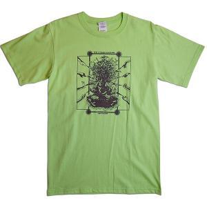 【送料無料】JOKE FACTORY(ジョークファクトリー):合同コント公演「極楽旅行」オリジナルTシャツ/キーライム/メンズS【ファッション お笑い Tシャツ】|aprilfoolstore