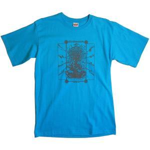 【送料無料】JOKE FACTORY(ジョークファクトリー):合同コント公演「極楽旅行」オリジナルTシャツ/カリビアンブルー/メンズM【ファッション お笑い Tシャツ】|aprilfoolstore