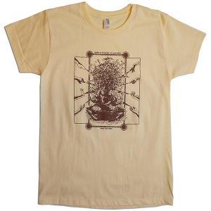 【送料無料】JOKE FACTORY(ジョークファクトリー):合同コント公演「極楽旅行」オリジナルTシャツ/イエロー/レディースS【ファッション お笑い Tシャツ】|aprilfoolstore