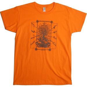 【送料無料】JOKE FACTORY(ジョークファクトリー):合同コント公演「極楽旅行」オリジナルTシャツ/オレンジ/レディースM【ファッション お笑い Tシャツ】|aprilfoolstore
