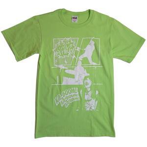 カミソリ☆彡レター:Tシャツ(購入特典缶バッジ付)/キーライム/メンズS【ファッション バンド Tシャツ】|aprilfoolstore