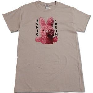 SONIC YOUTH(ソニック・ユース):DIRTY BUNNY/シルバーグレー/メンズS【ファッション バンド Tシャツ】|aprilfoolstore