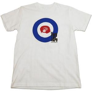 Very Ape(ヴェリーエイプ):「WHO?」Tシャツ/ホワイト/メンズ&レディース(キッズL)/ファッション バンド Tシャツ/メール便対応可|aprilfoolstore