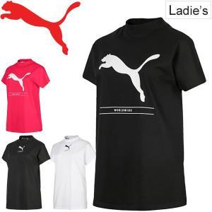 Tシャツ 半袖 レディース プーマ PUMA NU-TILITY SS TEE スポーツウェア モッ...
