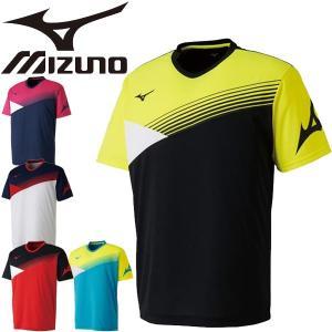 ミズノ(mizuno)から、吸汗速乾性に優れたTシャツです。  吸汗速乾性に優れ汗を素早く吸収、拡散...