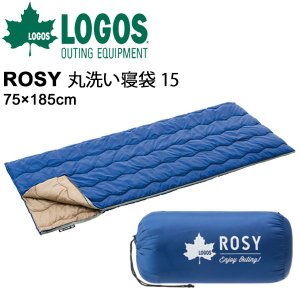 シュラフ 封筒型 スリーピングバッグ 寝具/ロゴス LOGOS ROSY 丸洗い寝袋・15/7260...