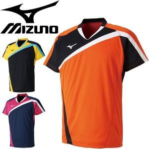 ミズノ(mizuno)から、ラケットスポーツ用のゲームシャツ[ユニセックス]です。  動的機能裁断・...