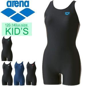 ジュニア 女子 スクール 水着 キッズ 女の子 アリーナ arena オールインワンジュニア /ARN-702WJ【返品不可】|apworld