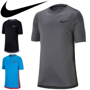 Tシャツ 半袖 キッズ ジュニア 子ども 子供服 ナイキ NIKE YTH DRI-FIT トロフィ− S/S トップ プラクティスシャツ スポーツウェア 130-160サイズ/AV4896|apworld