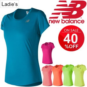 半袖Tシャツ レディース ニューバランス new balance アクセレレイト ショートスリーブ ランニング マラソン ジムトレーニング 女性 吸汗速乾/AWT73128|apworld