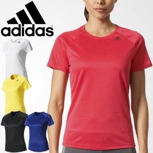 Tシャツ 半袖 レディース アディダス adidas D2M トレーニング 定番 ワンポイントT ルーズ 女性用 フィットネス 吸汗速乾/BXJ04 apworld