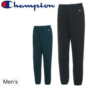 スウェットパンツ メンズ チャンピオン champion トレーニングウェア 男性 スエット フィットネス ジム ロングパンツ 無地 ロゴ/C3-HS260|apworld