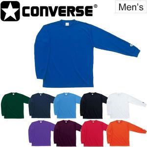 Tシャツ 長袖 メンズ コンバース CONVERSE バスケットボール 男性 バスケシャツ 吸汗速乾/CB251324L【取寄】 apworld