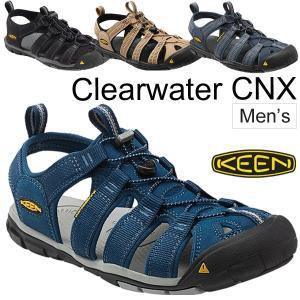 送料無料 KEEN キーン クリアウォーター CNX メンズ 男性 CLEAR WATER CNX/水陸兼用 スポーツサンダル アウトドア シューズ キャンプ フェス カジュアル|apworld