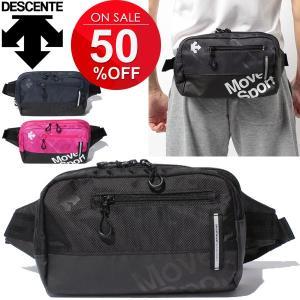 ウエストポーチ デサント DESCENT グラフィック ボディーバッグ スポーツバッグ Move Sports メンズ レディース かばん 男女兼用/DAC-8735|apworld