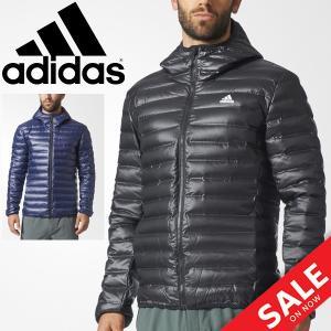 ダウンジャケット メンズ アウター アディダス adidas フーディ ジャケット VARILITE 男性用 アウター 保温性 防寒 BQ7782/BQ7785 ウェア/DKQ81|apworld