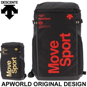 リュックサック バッグ オリジナルデザイン デサント DESCENTE MoveSport スクエア...