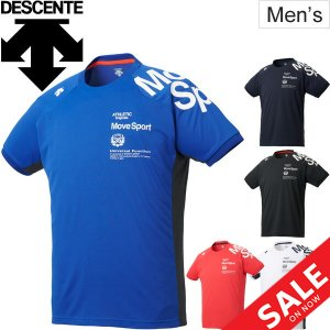 Tシャツ 半袖 メンズ デサント DESCENTE ドライトランスファー TEE MoveSport...