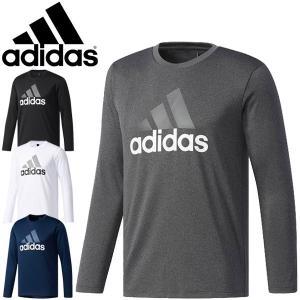 Tシャツ 長袖 メンズ/アディダス adidas M ESSENTIALS 男性用 トレーニングウェア ランニング ジョギング ウォーキング ジム / DUV78 apworld