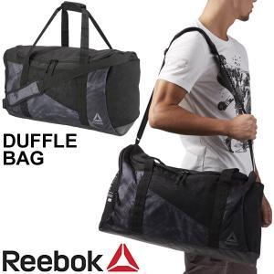 ボストンバッグ メンズ レディース/リーボック Reebok コンバット ダッフルバック/トレーニング ジムバッグ スポーツ 旅行 鞄 ブラック 黒 かばん/EDE09|apworld