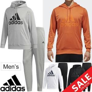 スウェット 上下セット メンズ アディダス adidas ESSENTIALS ライトスウェット プルオーバー パンツ/スポーツウェア 男性 スエット 上下組/FAO98-FAO96 apworld