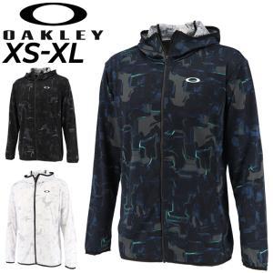 ジャージ ジャケット 薄手 メンズ アウターオークリー OAKLEY ENHANCE KNIT HOODYJAC11.0/スポーツウェア トレーニング 男性 上着 フーディ 上着 /FOA402409|APWORLD
