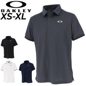 半袖 ポロシャツ メンズ オークリー OAKLEY ENHANCE SS POLO 11.0/スポーツウェア トレーニング ゴルフ 男性 襟付きシャツ 普段使い トップス/FOA402418|APWORLD