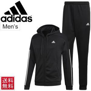 トレーニングウェア 上下セット メンズ アディダス adidas M GAME TIME トラックスーツ スポーツウェア ジャージ ジャケット ロングパンツ 上下組/FRV77|apworld