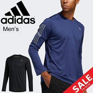 Tシャツ 長袖 メンズ アディダス adidas オウン ザ ラン TEE/スポーツウェア ランニングシャツ マラソン ジョギング/FYR52 apworld
