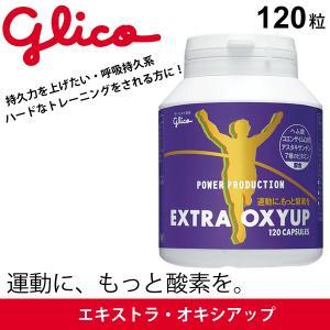 エキストラ・オキシアップ(標準120粒) 江崎グリコ glico パワープロダクション 呼吸持久系/G70866【取寄】【返品不可】|apworld