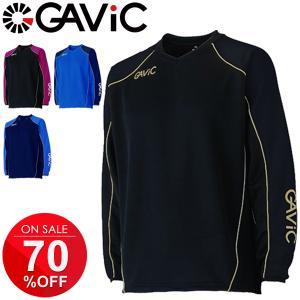長袖シャツ メンズ トレーニングシャツ/ガビック GAVIC ウォーミングトップ/スポーツウェア サ...