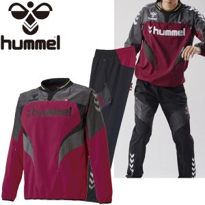 ピステスーツ 上下セット メンズ /ヒュンメル Hummel ハイブリッド トレーニングウェア/サッカー /HAW4156SP|apworld
