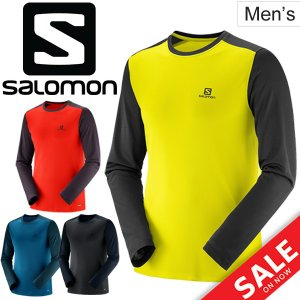 ★メール便1点までOK★  サロモン(SALOMON)から、メンズの長袖Tシャツです。  独自のドラ...