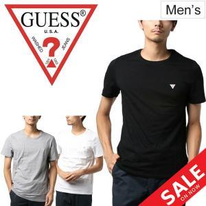 Tシャツ 半袖 メンズ ゲス GUESS クルーネック ロゴ シンプル おしゃれ/M93I60I3Z00|apworld