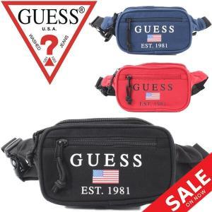 ウエストポーチ ウエストバッグ ゲス GUESS ヒップバッグ メンズ レディース 鞄 ボディバッグ ポーチ/M93Z45WBWJ0|apworld