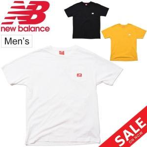 Tシャツ 半袖 メンズ ニューバランス Newbalance NBアスレチックス ポケット S/S TEE/スポーツウェア ポケットT クルーネック/MT01567 apworld