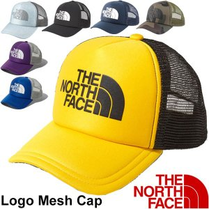 ザ・ノースフェイス(THE NORTH FACE)から、ロゴメッシュキャップです。  前面はポリエス...